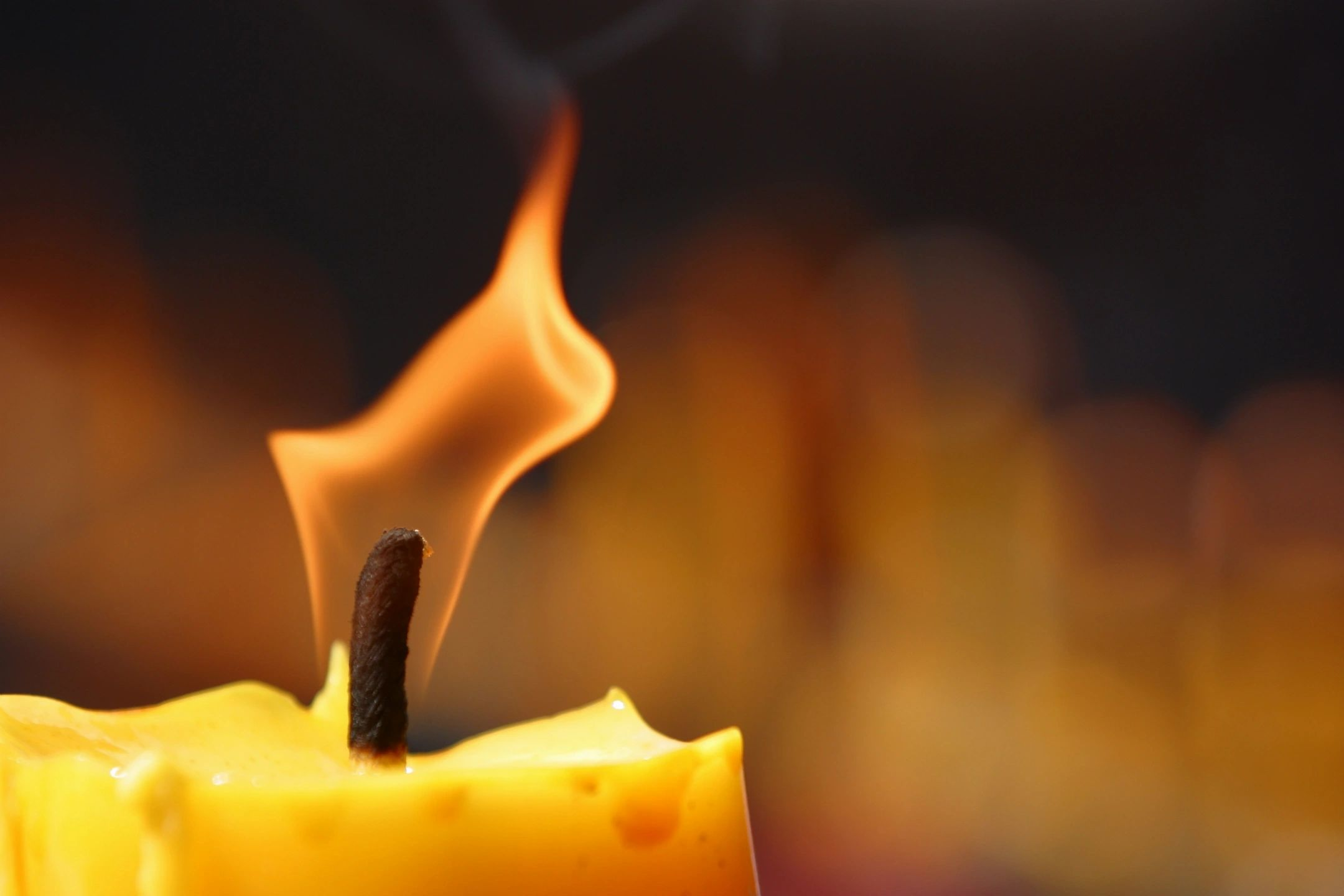 Candle Flame Blog Header